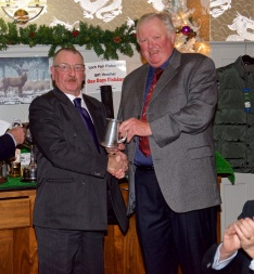 4 - Ron Ganley - Tankard for Heaviest fish for Outings Competition - 3 lb 9 oz