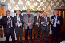 9 - Club President Davy Landsburgh with Trophy Winners